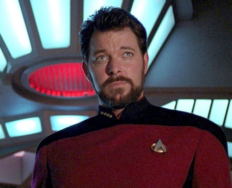TNG'nin Will Riker'ı Jonathan Frakes